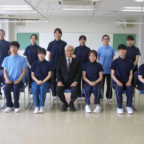 ☆ 介護福祉学科 宣誓式 ☆